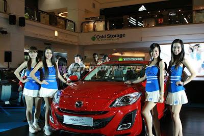 Mazda 3 Launch Photo