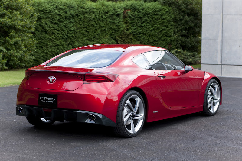 Toyota FT-86 Concept Rear