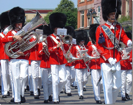 The Tivoli Boy's Guard Band