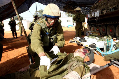IDF MD Doctors Train under fire