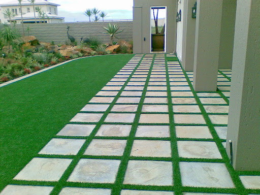 artificial grass decor