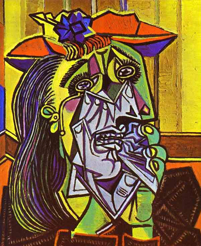 Picasso - Weeping Woman