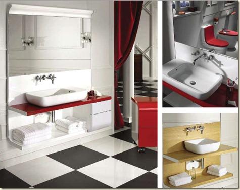 muebles de baño roca554