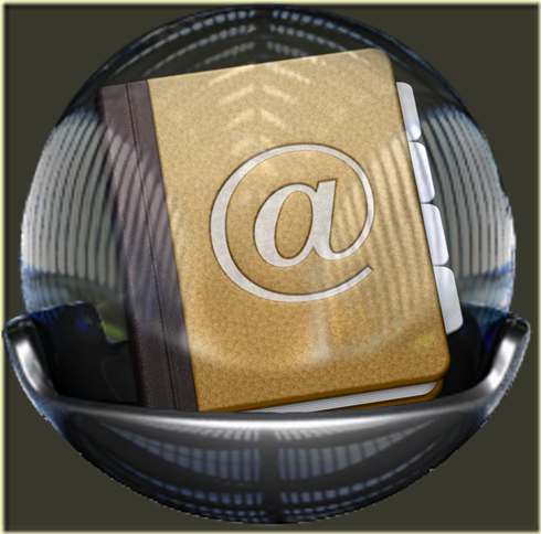 Address Book Glass