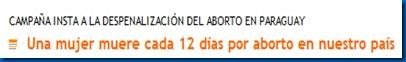 mujer aborto