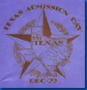 texas admission day