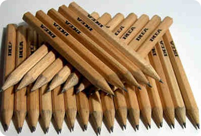 ikea pencils small