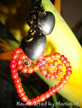 Key Chain heart  Closer look