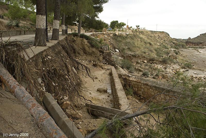 Meteorolog a y naturaleza cuando la dana ataca el sureste 5 - Los banos de mula ...