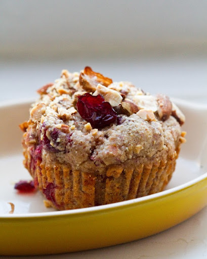 Cranberry almond swirl muffins vegan muffin bliss for What to make with leftover applesauce