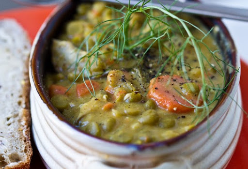 pea soup with ham split pea soup split pea soup carrot fennel soup ...