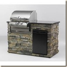 outdoor kitchen small