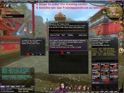 Atlantica Online - Training Center How To Guide