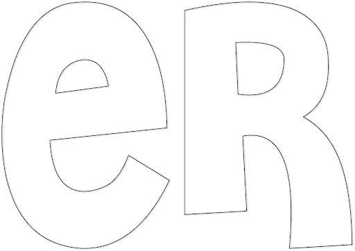 Moldes de letras para carteleras - Imagui