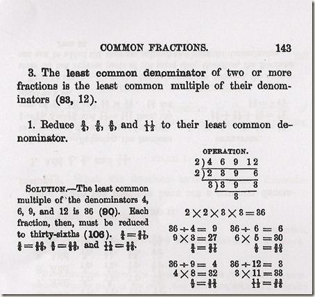 Least Common Multiple/Common Denominators | Homeschool Stuff ...