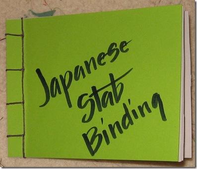 japanese stab bookbinding