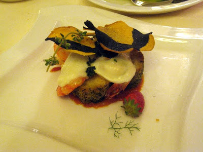 Dinner at Ristorante Caruso in Sorrento Italy