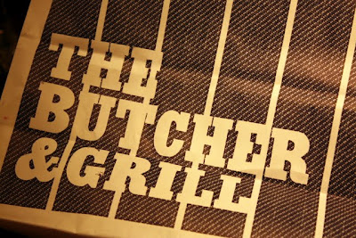 Bag from the The Butcher and Grill in Wimbledon London