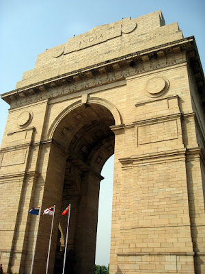 India Gate in Delhi, India