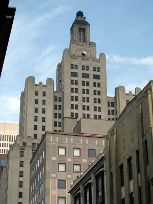 Gotham city building in Providence