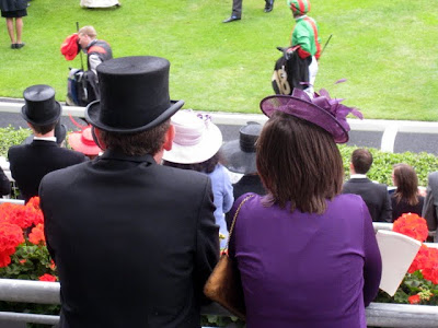 Two people at Royal Ascot