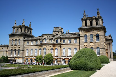 Blenheim Palace in England