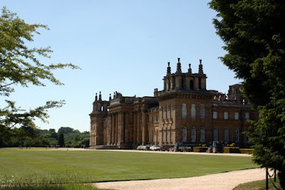 Blenheim Palace in the UK