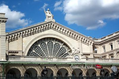 Gare de l'Est in Paris France