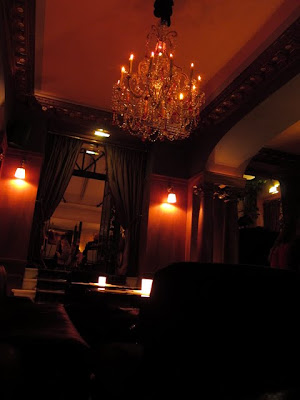 Hotel Costes bar in Paris France