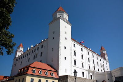 Bratislava Castle in Slovakia