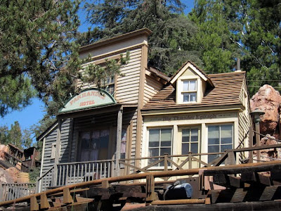 Big Thunder Mountain Railroad Disneyland ride