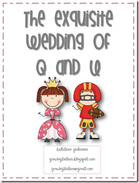 growing kinders the exquisite wedding of q and u