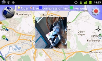 Screenshot of Route Recorder 3