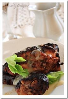 Kurczak w occie z sosem winnym