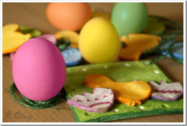 jajka, pisanki, farbowane jajka