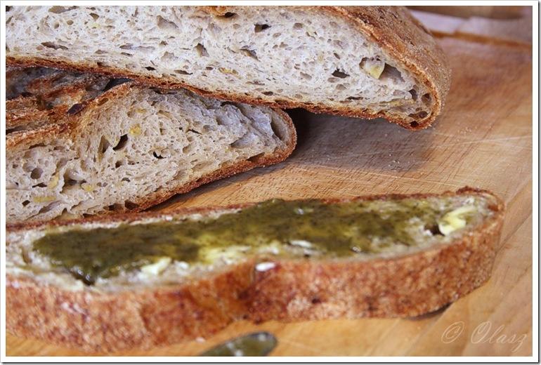Oat and Apple Bread/chleb z jabłkiem i płatkami