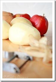 ziemniaczano-jabłkowe placki latkes