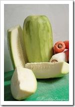 kabaczek i pieczone jesienne warzywa