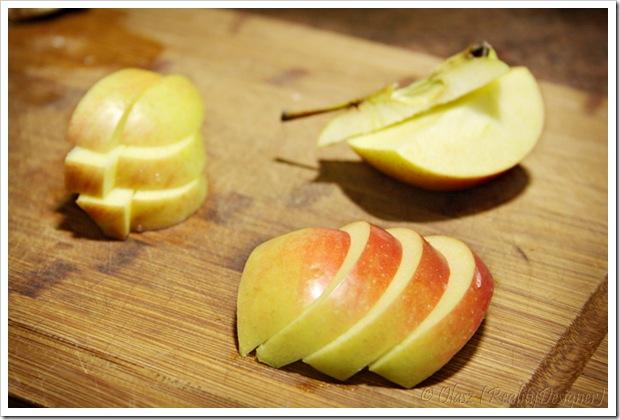 Jak pokroićjabłko w kostkę