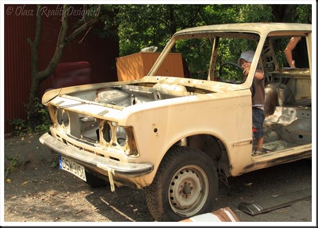 Rajdowy Fiat 125 p