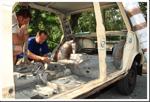 Fiat 125p odbudowa - FSO Rally Team
