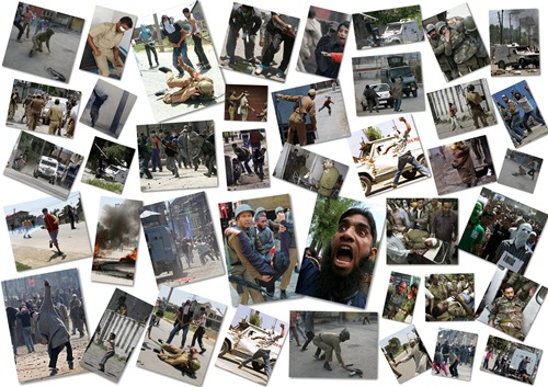 Rioting, stone-pelting arsonists running their writ in the Kashmir Valley