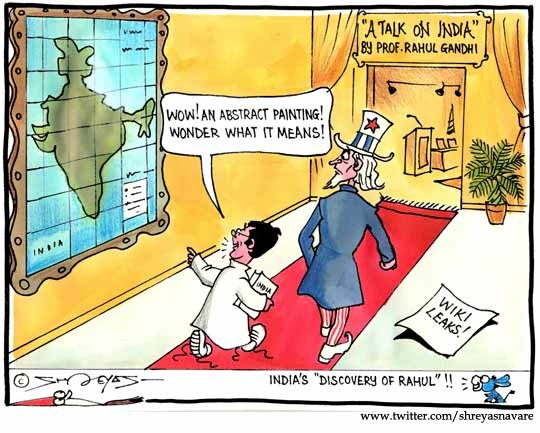 Rahul Gandhi discovers India