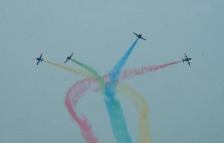 Indian Navy Air wing wallpaper [Sagar Pawan Aerial Aerobatics team (HAL HJT-16 Kiran)]