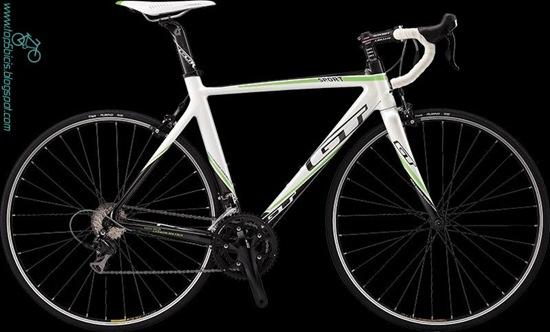 GTR Carbon Sport  Green White