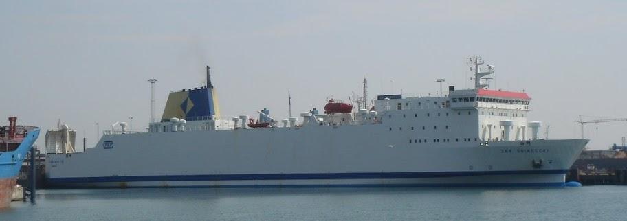 PKP Fährschiff Ystad - Swinemünde