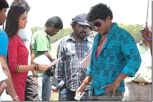 Jackie_Kannada_Movie_Working_Stills_8