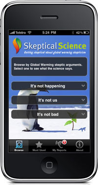 Skeptical Science iPhone App