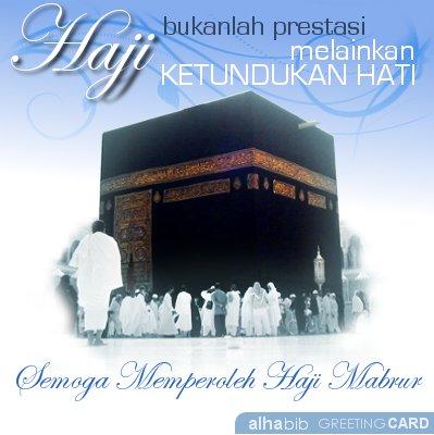 Haji bukanlah prestasi, melainkan ketundukan hati.