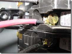 EXAMPLE WIRING TO BREAKERS